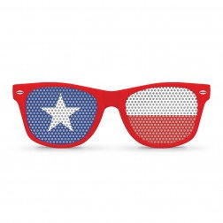 Chile Flag Sunglasses