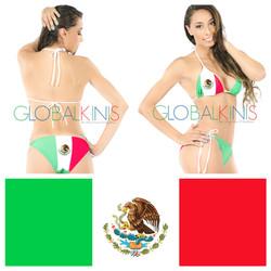 Mexico Flag Bikini