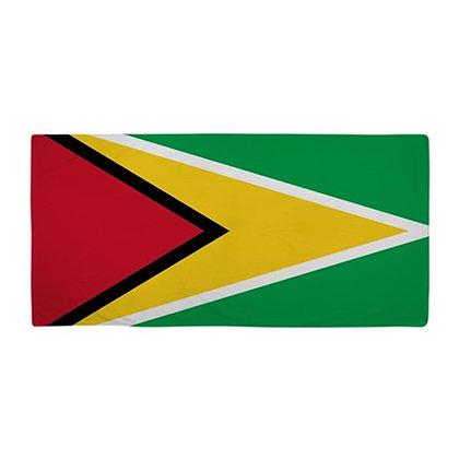 Guyana Flag Beach Towel