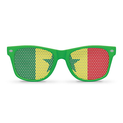 Senegal Flag Sunglasses