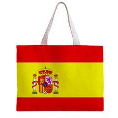 Spain Flag Tote Bag w/ Zipper.