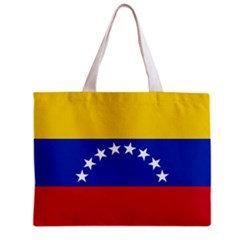 Venezuela Flag Tote Bag w/ Zipper.