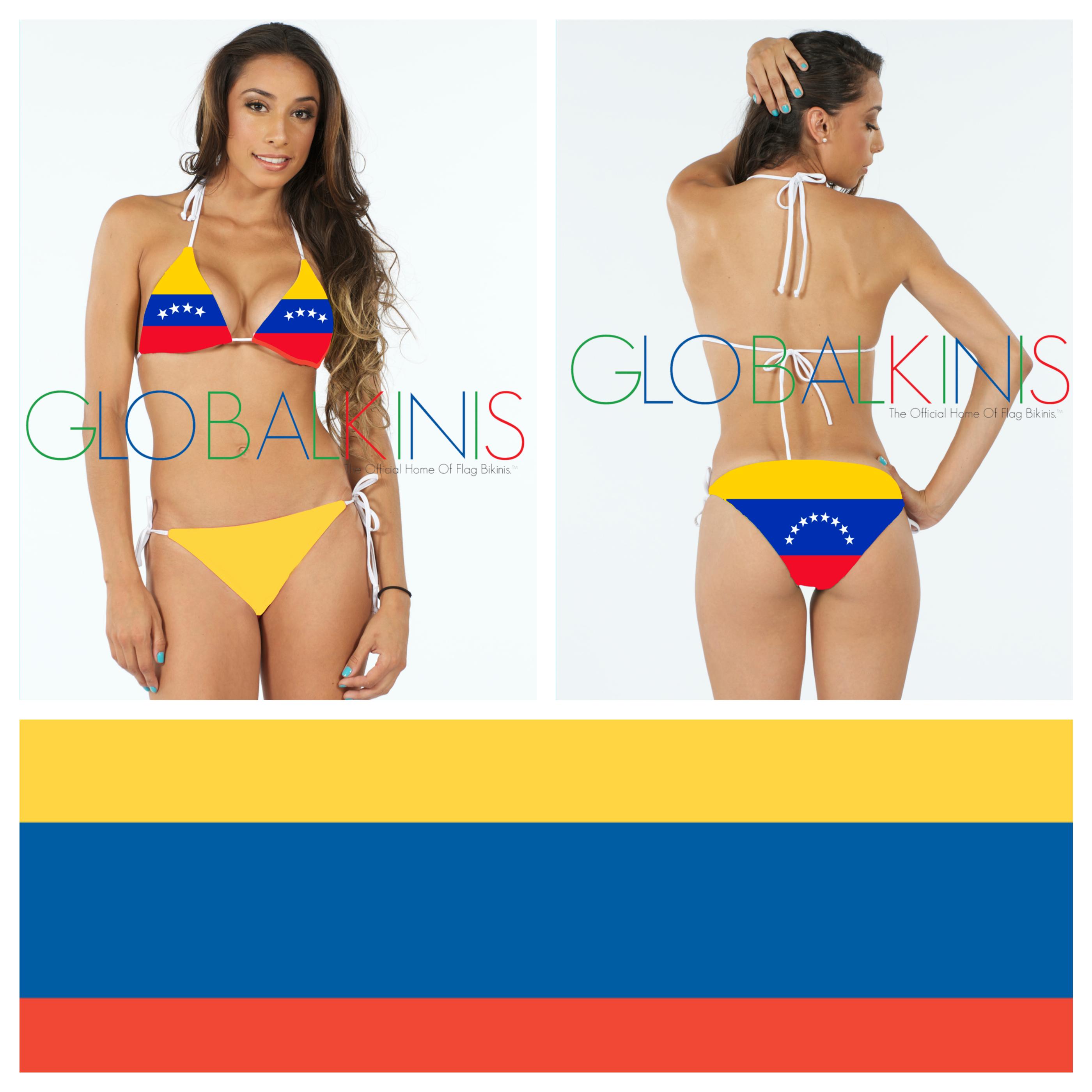 Venezuela Flag Bikini