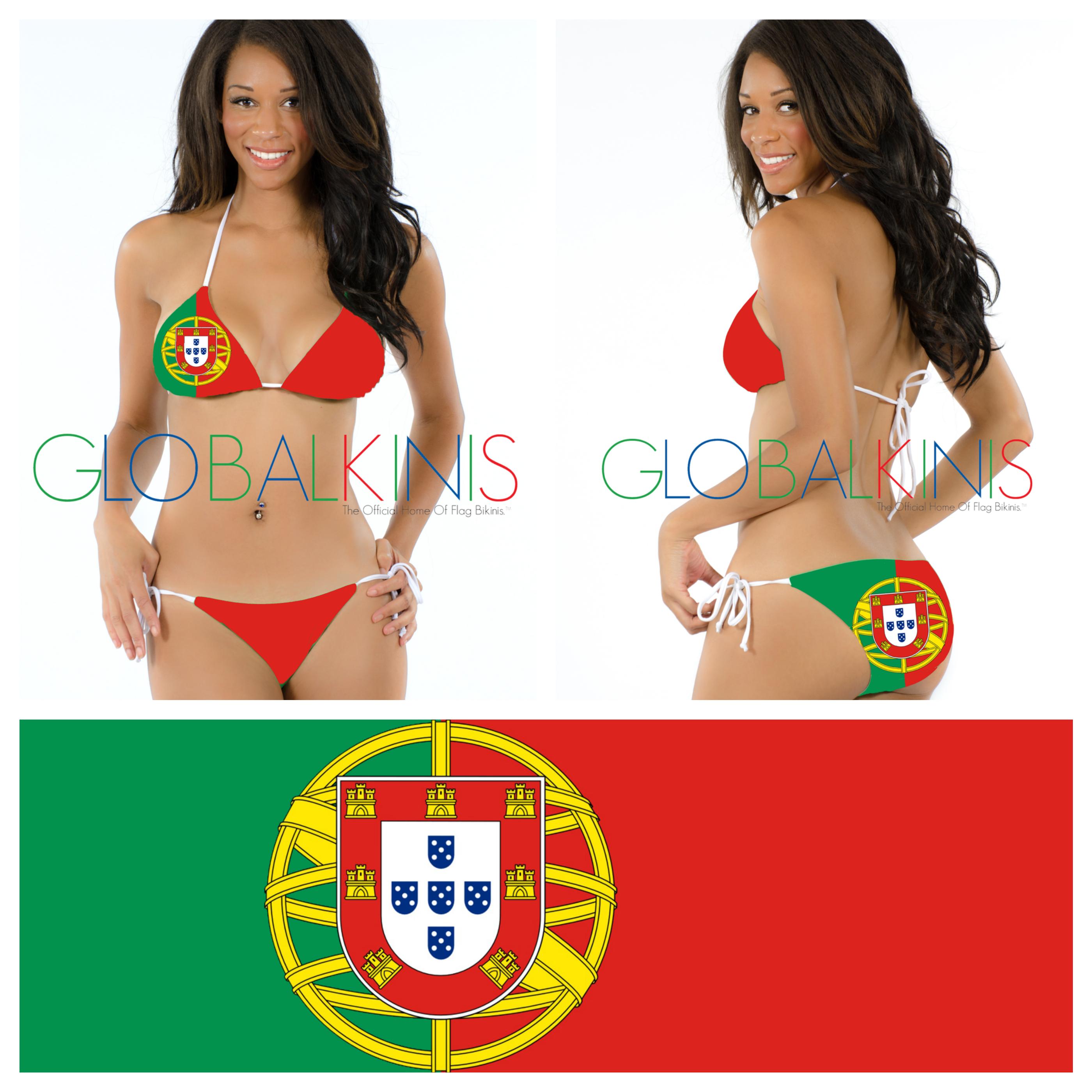 Portugal Flag Bikini