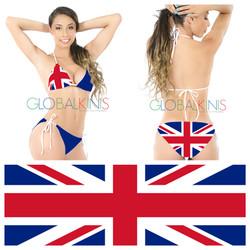 United Kingdom Flag Bikini