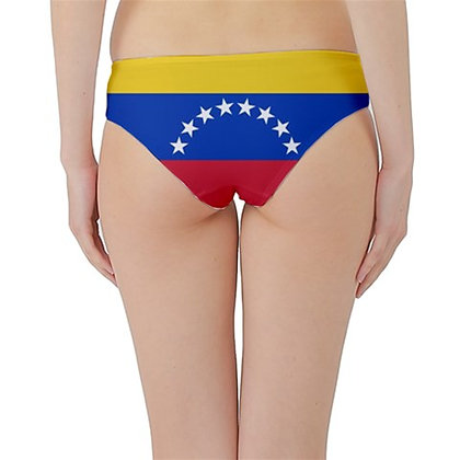 Venezuela Flag Hipster Cheeky Bikini Bottoms