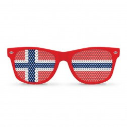 Norway Flag Sunglasses