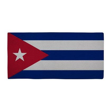 Cuba Flag Beach Towel