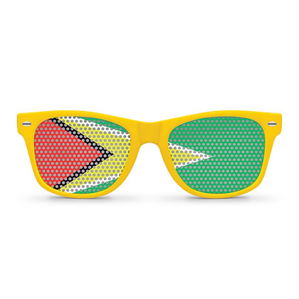 Guyana Flag Sunglasses