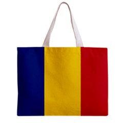 Romania Flag Tote Bag w/ Zipper.