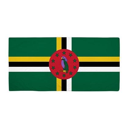 Dominica Flag Beach Towel