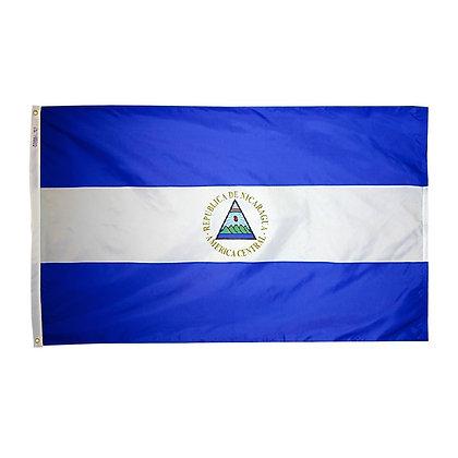 """Nicaragua Flag """"3x5"""""""