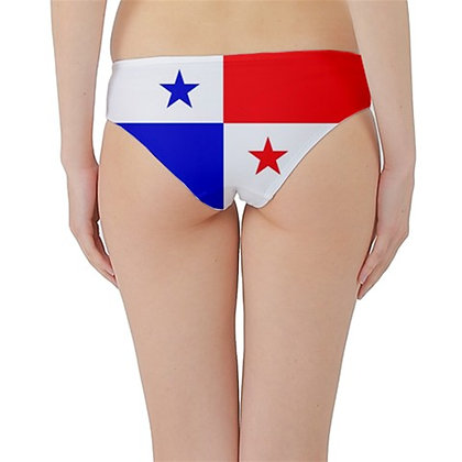 Panama Flag Hipster Cheeky Bikini Bottoms