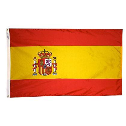 """Spain Flag """"3x5"""""""