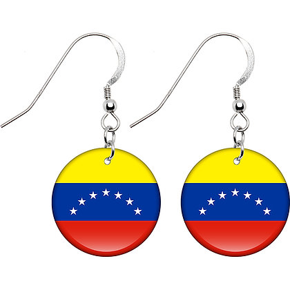 Venezuela Flag Earrings