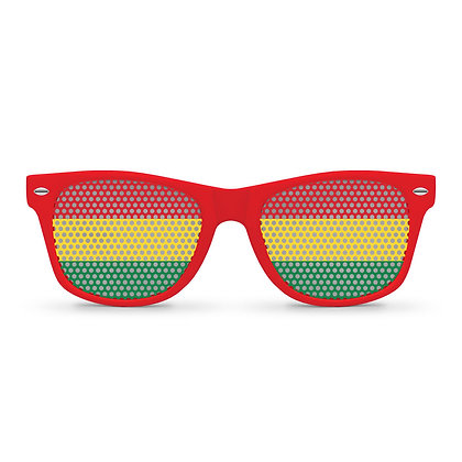 Bolivia Flag Sunglasses