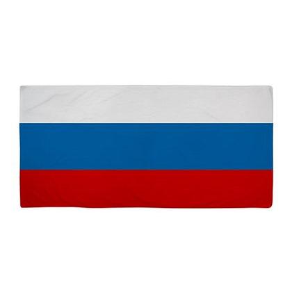 Russia Flag Beach Towel