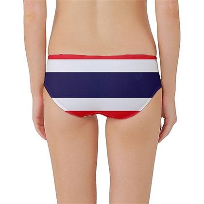 Thailand Flag Classic Bikini Bottoms