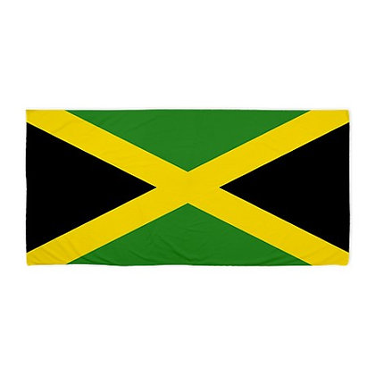 Jamaica Flag Beach Towel