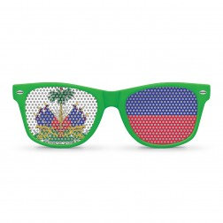 Haiti Flag Sunglasses