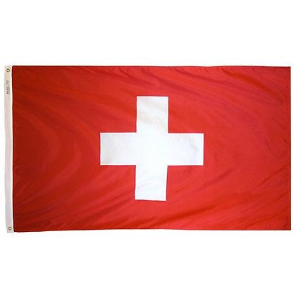 "Switzerland Flag ""3x5"""
