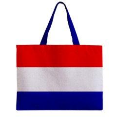 Netherland Flag Tote Bag w/ Zipper.