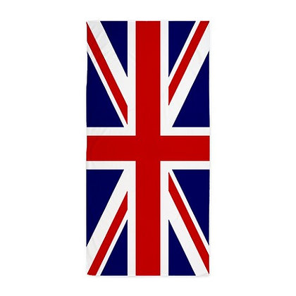 United Kingdom Flag Beach Towel