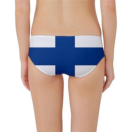 Finland Flag Classic Bikini Bottoms