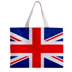United Kingdom Flag Tote Bag w/ Zipper.