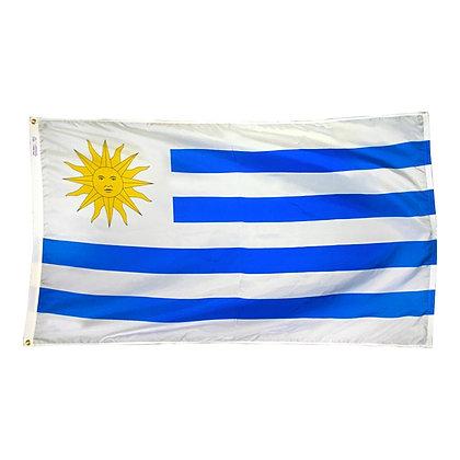 """Uruguay Flag """"3x5"""""""