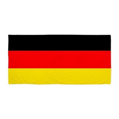 Germany Flag Beach Towel