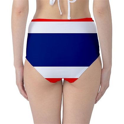 Thailand High Waist Flag Bikini Bottoms