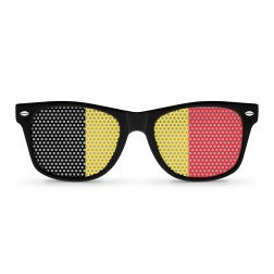 Belgium Flag Sunglasses