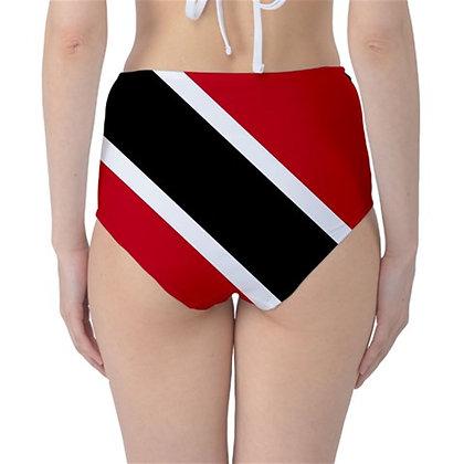 Trinidad And Tobago High Waist Flag Bikini Bottoms