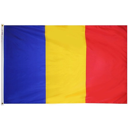 "Romania Flag ""3x5"""