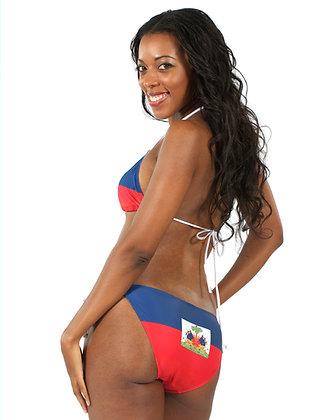 Haiti Flag Bikini Bottoms