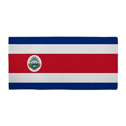 Costa Rica Flag Beach Towel