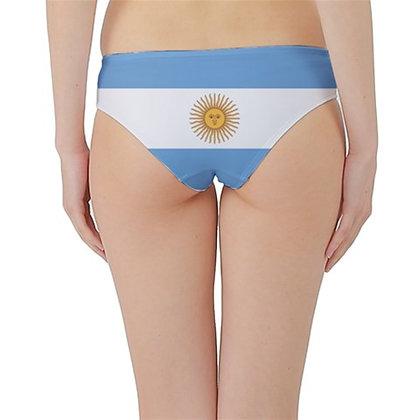 Argentina Flag Hipster Cheeky Bikini Bottoms