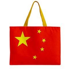 China Flag Tote Bag w/ Zipper.