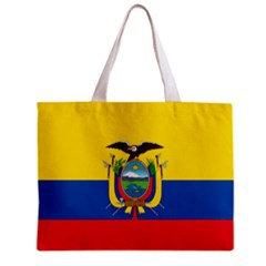 Ecuador Flag Tote Bag w/ Zipper.