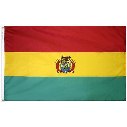 """Bolivia Flag """"3x5"""""""