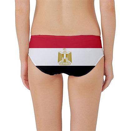 Egypt Flag Classic Bikini Bottoms