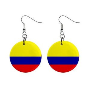Colombia Flag Earrings