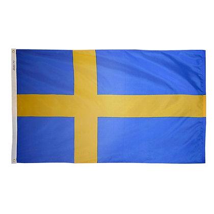 "Sweden Spain Flag ""3x5"""