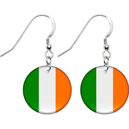 Ireland Flag Earrings