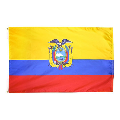 "Ecuador Flag ""3x5"""