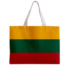 Lithuania Flag Tote Bag w/ Zipper.