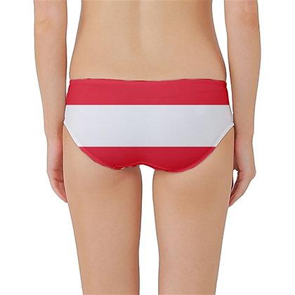 Austria Flag Classic Bikini Bottoms