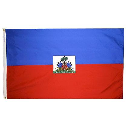 """Haiti Flag """"3x5"""""""