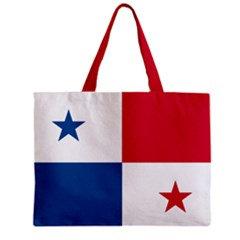 Panama Flag Tote Bag w/ Zipper.